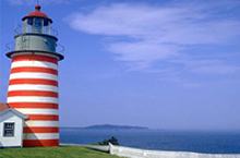 Quoddy Head Light - Downeast Maine